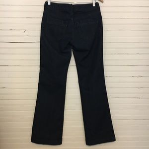 BANANA REPUBLIC SIZE 27/4 TROUSER DARK WASH JEANS.